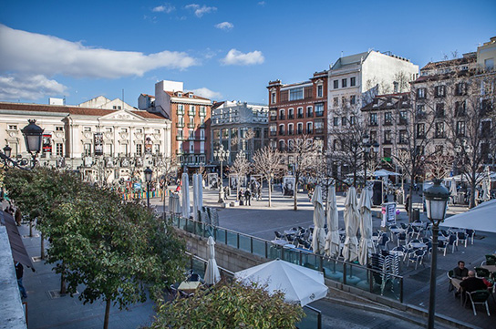 Plaza Santa Ana - Barrio de las Letras Historic Walking Tour of Madrid