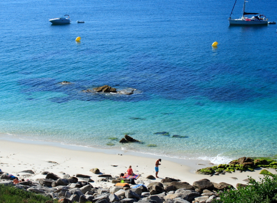 The cies islands of galicia a rustic utopia in nw spain cies islands beach 1 publicscrutiny Image collections